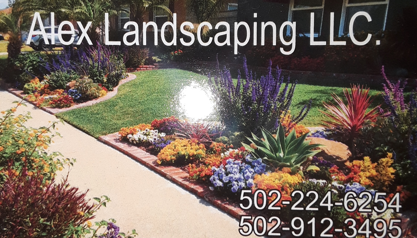 Alex Landscaping Logo